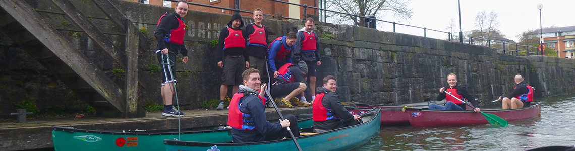 canoeing bristol stag and hen